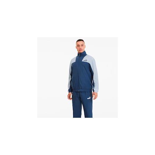 Puma Polyester Herren Trainingsanzug   Mit Aucun   Blau   Größe: XL