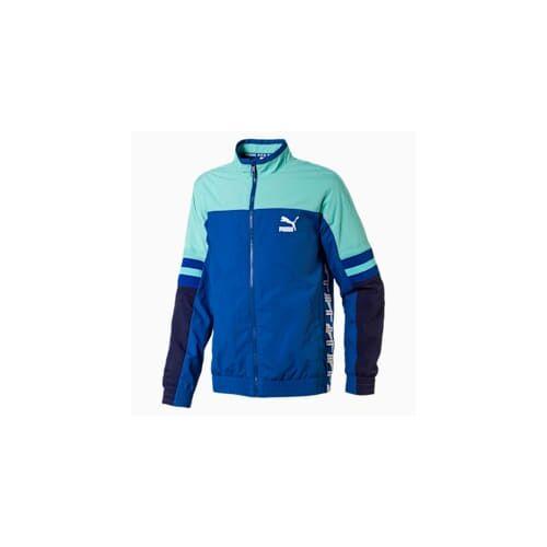 Puma XTG Jungen Gewebte Jacke Für Kinder   Mit Aucun   Blau