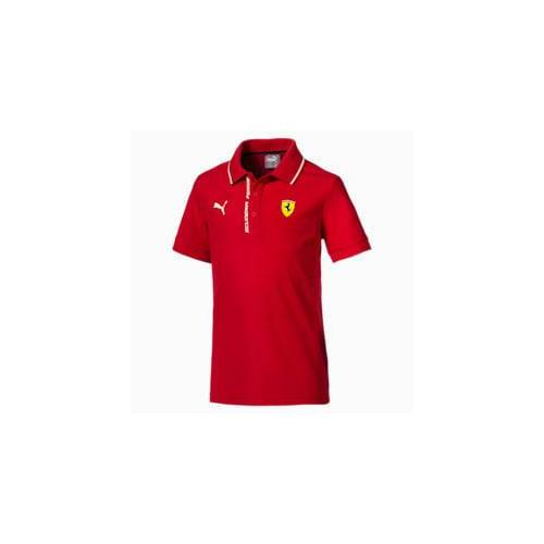 Puma Ferrari Kinder Polo   Mit Aucun   Rot   Größe: 116
