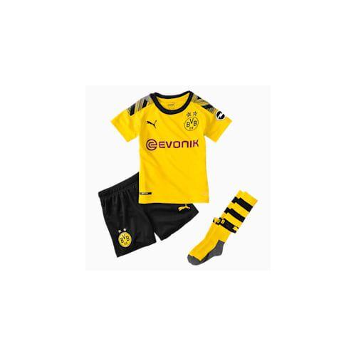 Puma BVB Kinder Heim Mini Set mit Socken   Mit Aucun   Gelb/Schwarz