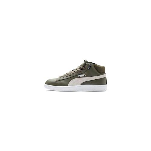 Puma Smash v2 Mid PureTEX High-Tops Schuhe Für Herren   Mit Aucun   Grün/Weiß   Größe: 42