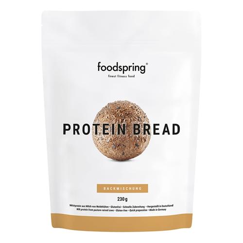 foodspring Proteinbrot - 90g Protein, Molkeeiweiß, Leinsamen