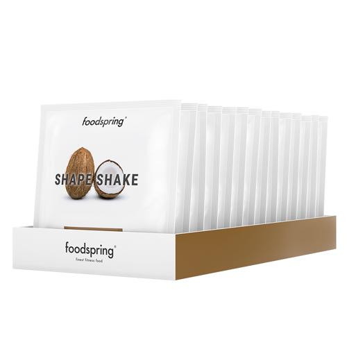 foodspring Shape Shake Cocos Crisp To Go 15er Pack - Praktisch für unterwegs