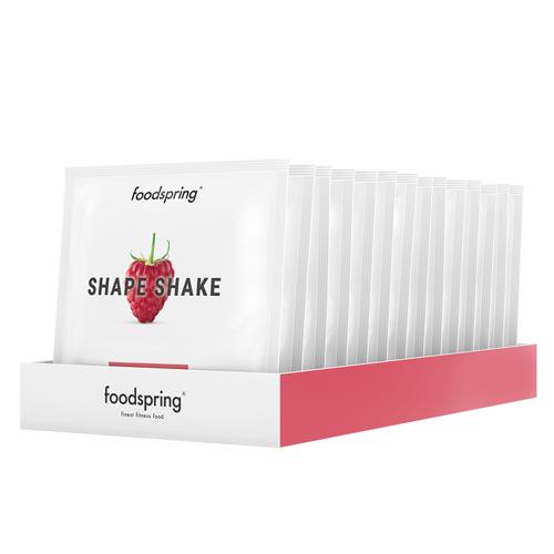 foodspring Shape Shake Himbeere To Go 15er Pack - Praktisch für unterwegs