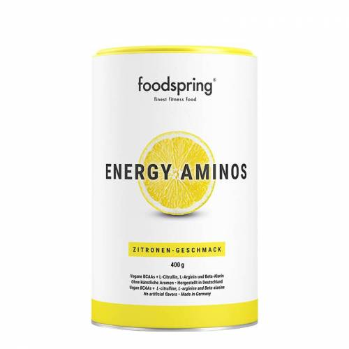 foodspring Energy Aminos - Pre-Workout Booster