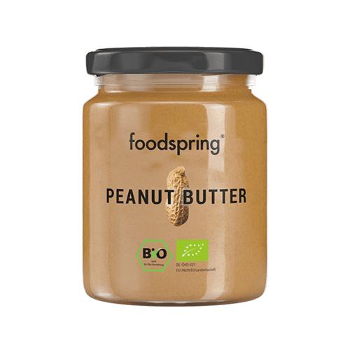 foodspring Bio Erdnussbutter - In Premium-Qualität, Erdnussbutter ohne Zusätze