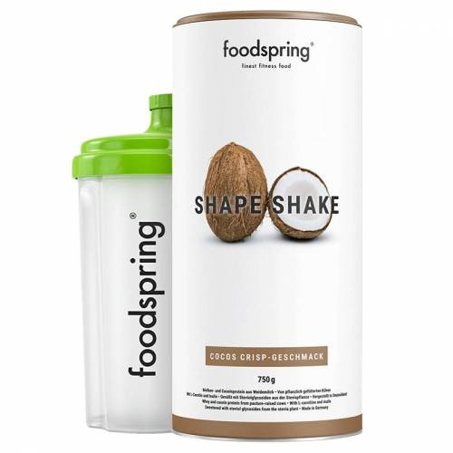 foodspring Shake Shape Coco Crisp - Der Shake für dein Figur-Training