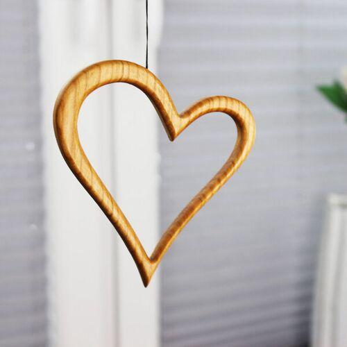 Mitienda Shop Fensterdeko - Herz Aus Holz