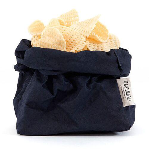 Uashmama Paper Bag L blau