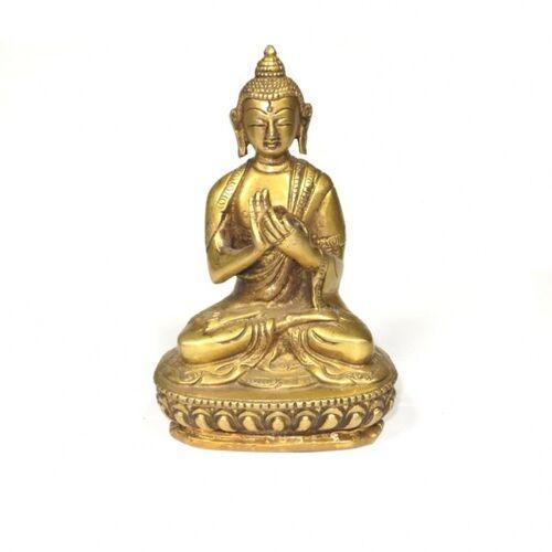 Just Be Messing Buddha Figur Mit Mudra