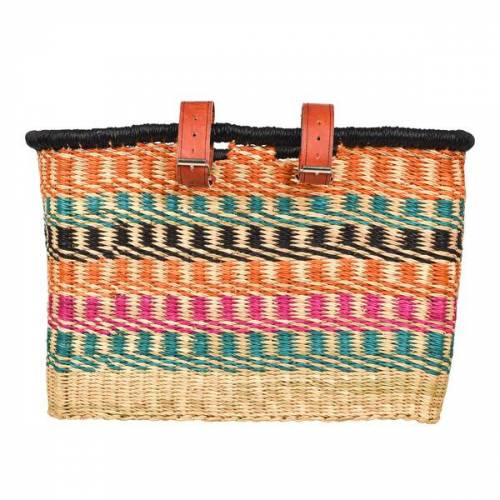the basket room Fair Trade Fahrradkorb - Apana / Bolga / Ashanti / Buli - Handgewebt - The Basket Room