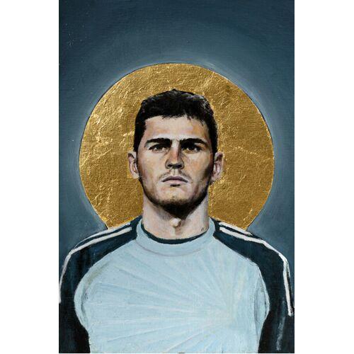Photocircle Iker Casillas - Poster Von David Diehl  45 x 30 cm