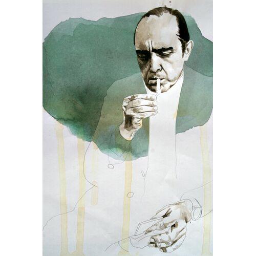 Photocircle Oscar Niemeyer - Poster Von David Diehl  180 x 120 cm