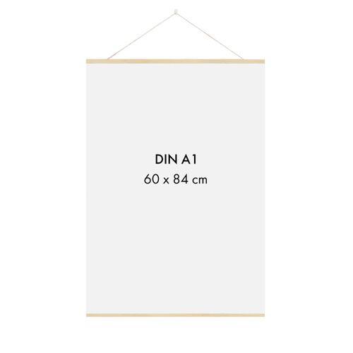 Sprintis Posterleiste Holz 60 Cm (Din A1, Din A2)