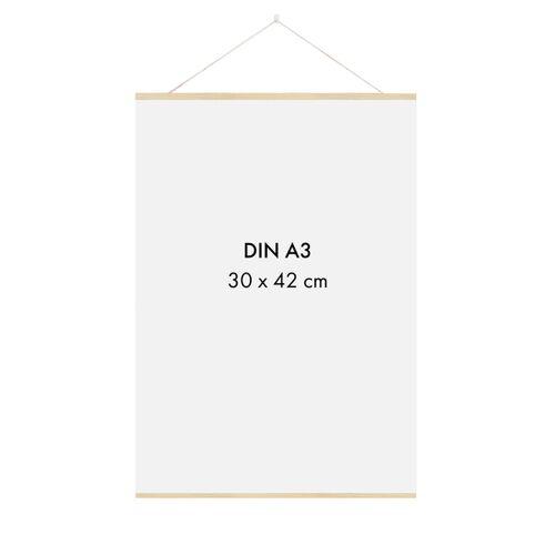 Sprintis Posterleiste Holz 30 Cm (Din A4, Din A3)