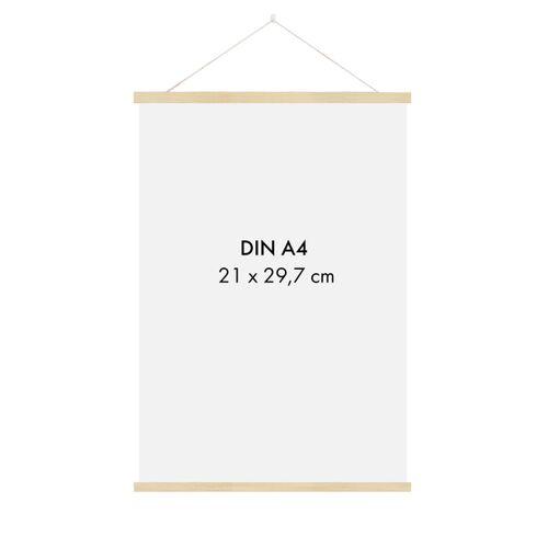 Sprintis Posterleiste Holz 22 Cm (Din A5, Din A4)