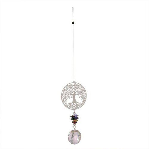 Mitienda Shop Windspiel Mit Kristall Baum Des Lebens