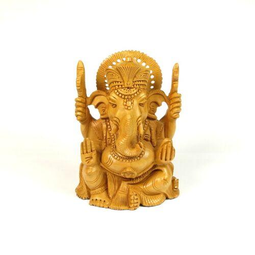 Just Be Ganesh Holzfigur
