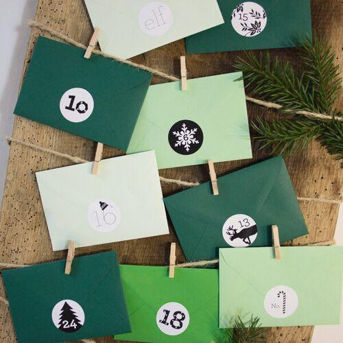 Bow & Hummingbird Adventskalender Tannengrün tannengrün