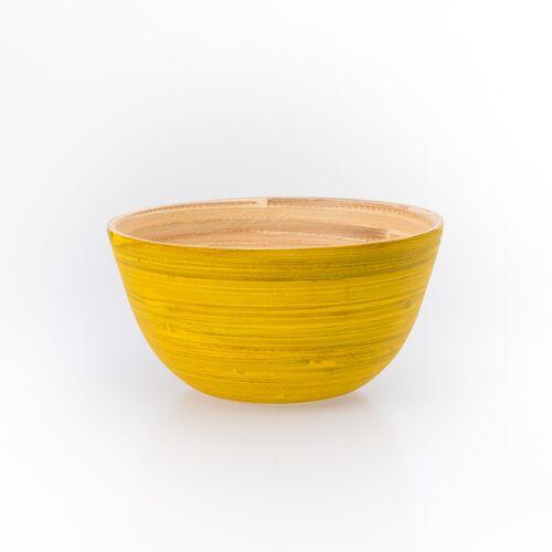 Bea Mely Bambusschälchen Gelb * Schale Aus Bambus gelb