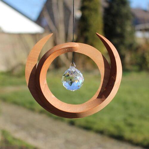 Mitienda Shop Fensterschmuck Aus Holz Nepal Mit Kristall
