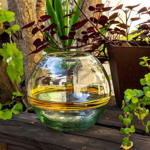Mitienda Shop Blumenvase Rund   Terrarium Verano 18 Cm
