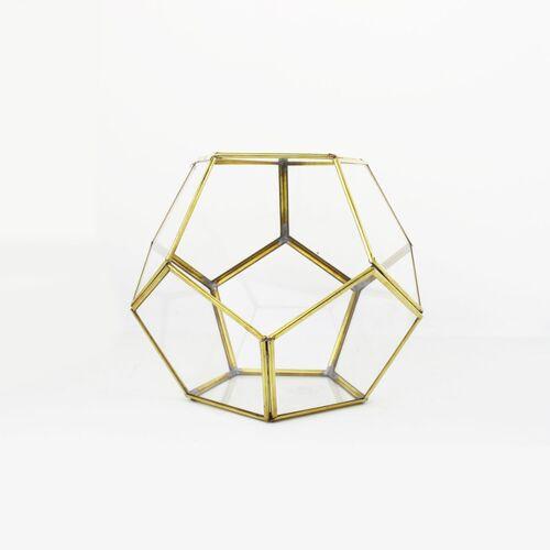 Mitienda Shop Geometrisches Terrarium Aus Glas - Kugel - Für Sukkulenten