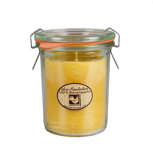 Kerzenfarm Hahn Bienenwachskerze Im Weckglas 4 Versch. Größen