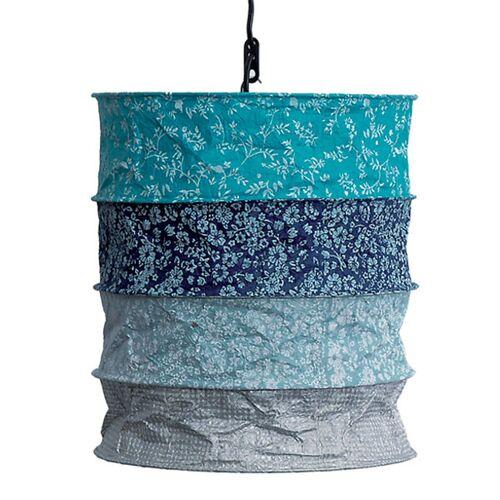 Mitienda Shop Lokta-lampenschirm Tromso   Lokta Blau blau