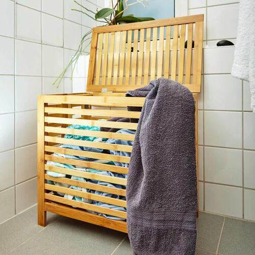 Bambuswald Bambus Wäschesammler Wäschetrommel Wäschesack Wäschetruhe bambus