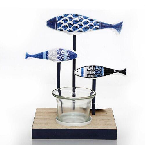 Mitienda Shop Kerzenhalter 3 Fische