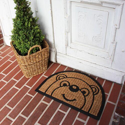 Globo Fußmatte Bär, Kokosfaser