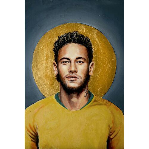 Photocircle Neymar - Poster Von David Diehl  90 x 60 cm