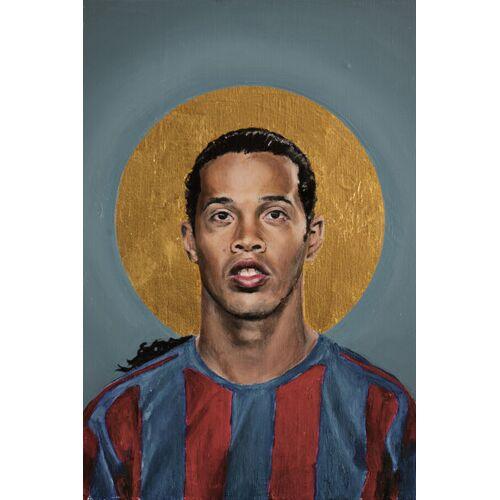 Photocircle Ronaldinho - Poster Von David Diehl  180 x 120 cm