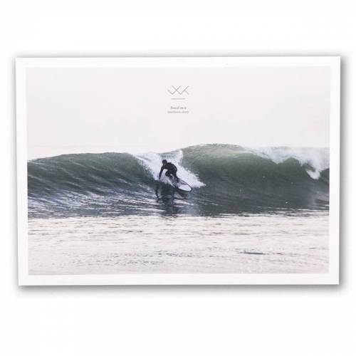 """Waterkoog Print """"Surf"""", A4, Recycling Papier print"""