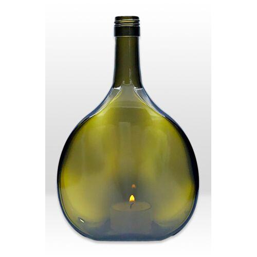 MaBe Flaschenlicht® Aus Dem Fränkischen Bocksbeutel oliv