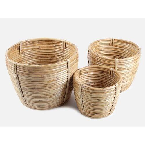 FOLKDAYS Übertopf Aus Bambus bambus M