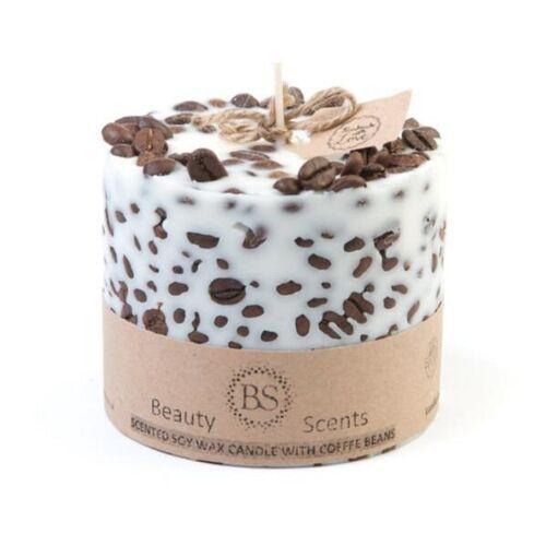 Beauty Scents Sojawachs Kerze Vanille & Kaffee vanille