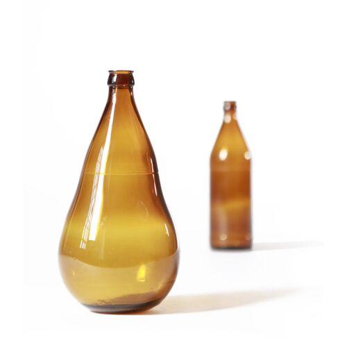 SAMESAME Bauchige Upcycling Vase Aus Bierflasche