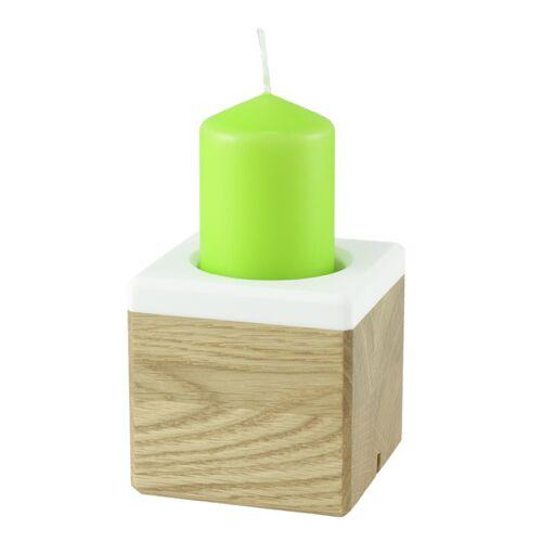 Holzbutiq Kerzenständer Kandelo, Design Kerzenhalter - Holz   Deko Kerzenständer