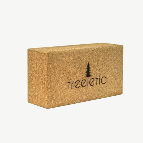 treeletic® Treeletic Byo Base Yogablock Kork / Handgefertigt