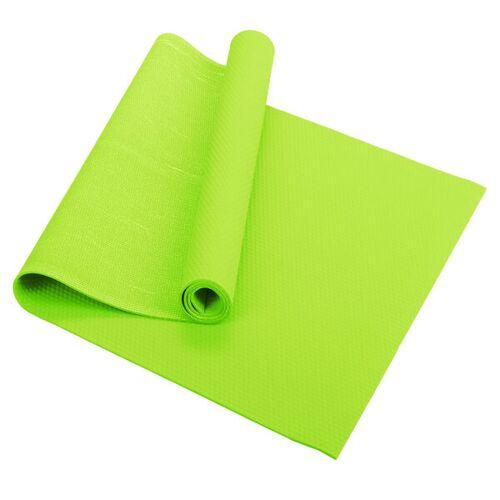 Fair Move Yogamatte Aus Naturkautschuk 175x60 Cm - Rutschfest Ohne Plastik grün