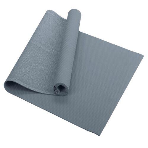 Fair Move Yogamatte Aus Naturkautschuk 175x60 Cm - Rutschfest Ohne Plastik grau