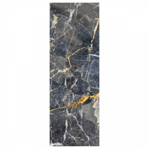 FITTASTIC All-in-one Yogamatte Grey Marble 3,5mm grey
