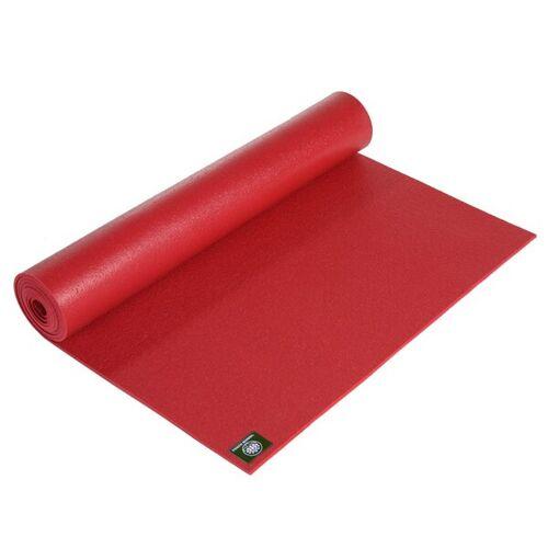 Lotus Design® Yogamatte Studio Standard 3 Mm Oekotex Extra Lang rot