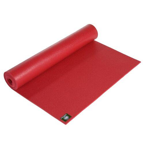 Lotus Design® Yogamatte Studio Premium 4,5 Mm Oekotex Extra Lang rot