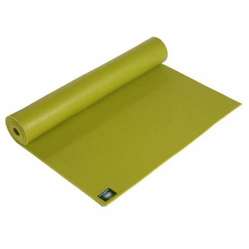 Lotus Design® Yogamatte Für Kinder Premium 4,5 Mm Oekotex grün