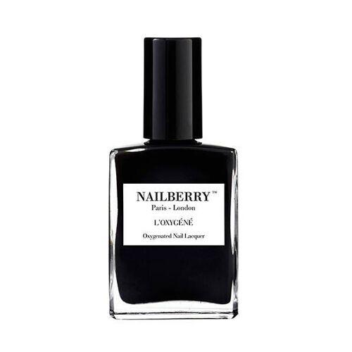 Nailberry Nagellack Vegan & Tierversuchfrei black
