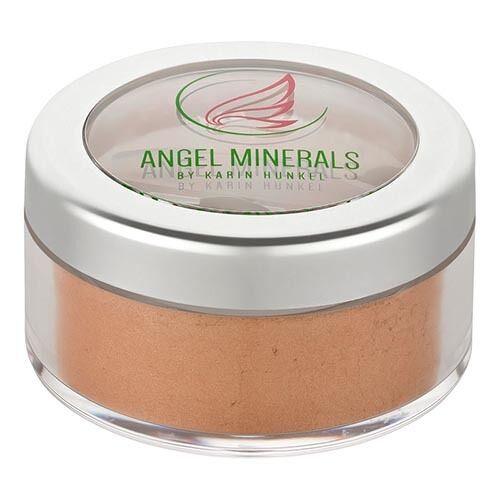 Angel Minerals Vegan Mineral Rouge beige tan satin