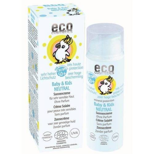 eco cosmetics Baby & Kids Sonnencreme Lsf 50+ Neutral Ohne Parfum